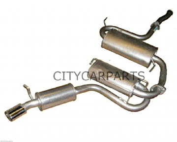 ALFA ROMEO GTV 2.0 3.0 EXHAUST CENTRE SILENCER & REAR MAIN SILENCER SECTION
